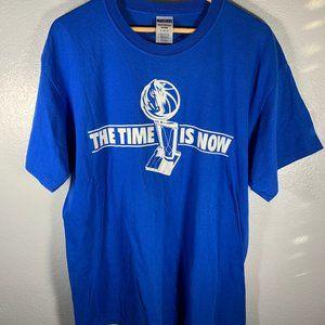 NBA Dallas Mavericks The Time Is Now Tee
